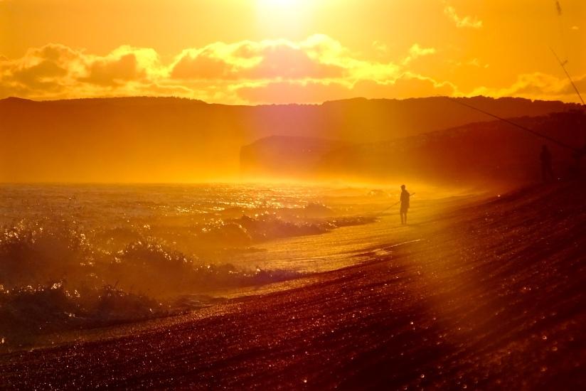 Sunset Shoreline.