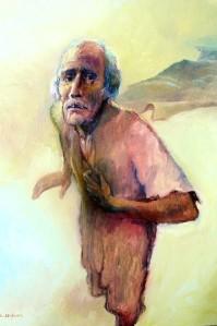 Bartimaeus painted bu Chris Higham